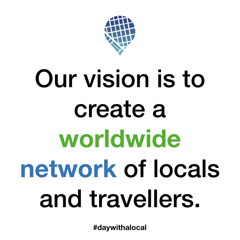Worldwide network of locals and travellers